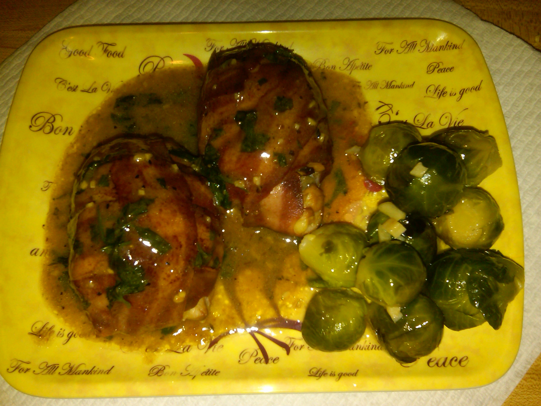 how to cook chicken tournedos in oven